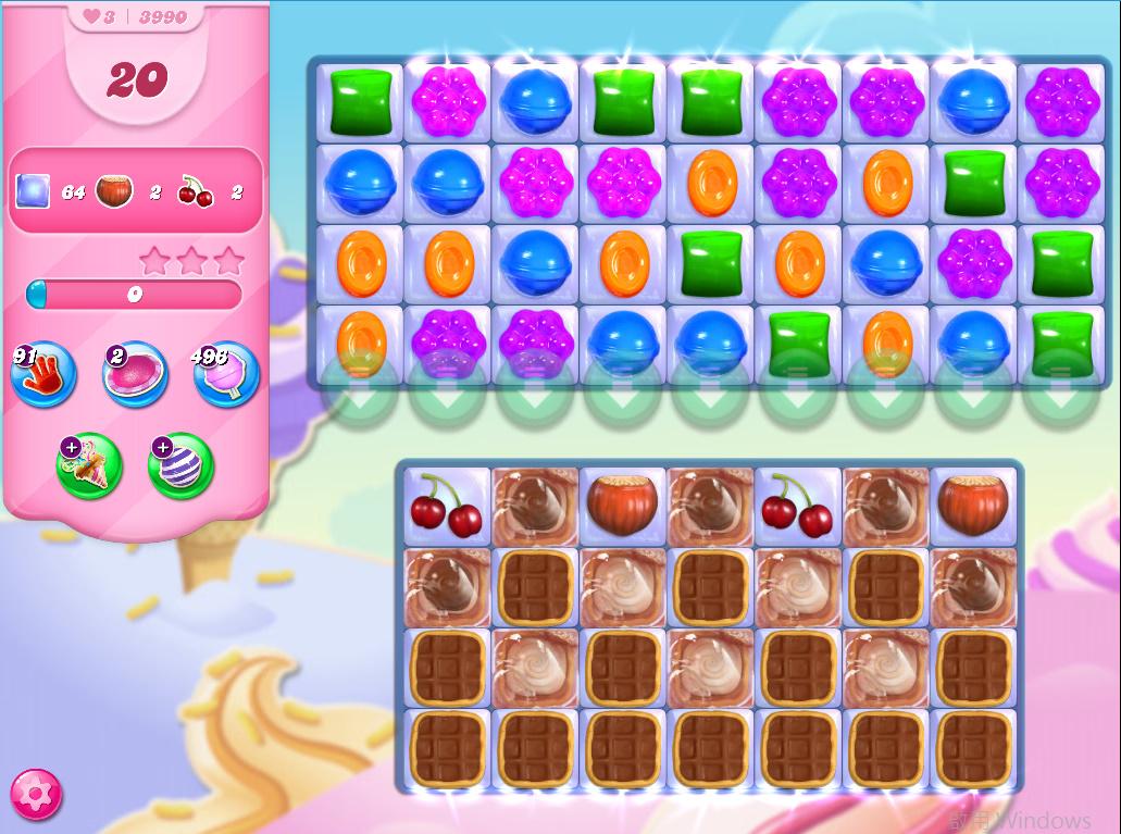 Candy Crush Saga level 3990