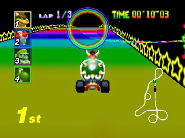 Corona Jumper Mario Kart 64 Nintendo 64 1997
