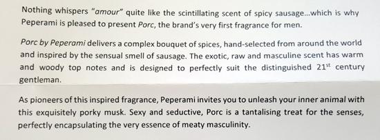 Peperami press release