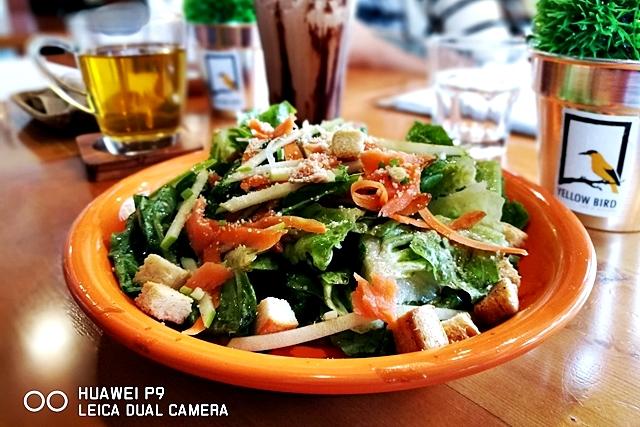 Salmon Salad, Antipolo Food Trip using Huawei P9 Mobile Phone Photography YedyLicious Manila Food Blog