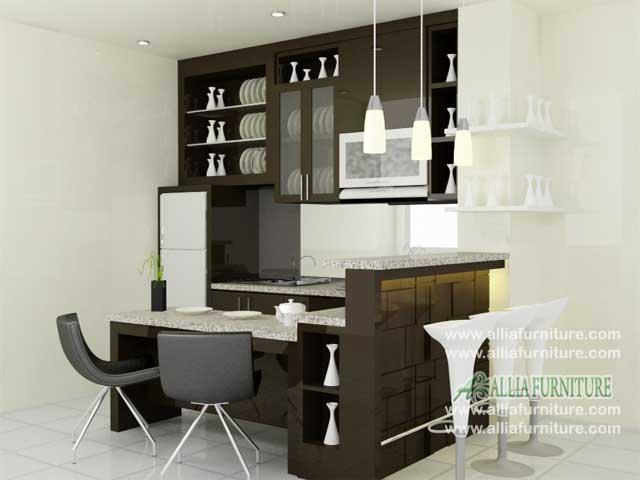 kitchen set mini bar minimalis coffe