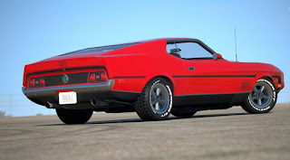 1971 Ford Mustang Mach 1 Drag Pack Rear