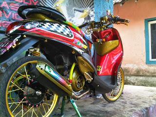 Modifikasi Motor Yamaha Mio Fino Terbaru Modif Kontes