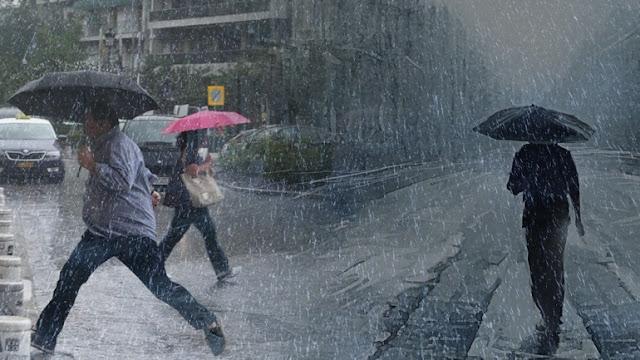 Ήπειρος: Έρχονται ισχυρές βροχές και καταιγίδες αύριο. Χιόνια στα ορεινά