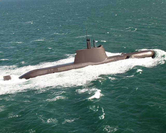 Submarino Tipo 214 de la Armada de Corea del Sur