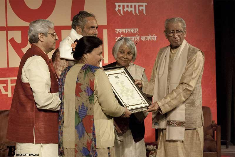 anuradha-benival-parents-namvar-singh-Vasudha-Dalmia-photo-bharat-tiwari-rajkamal-ashok-maheshwari