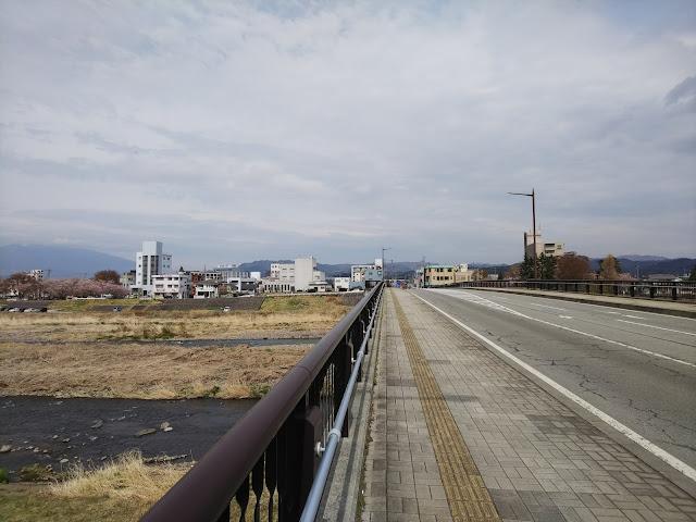 千曲川 野沢橋