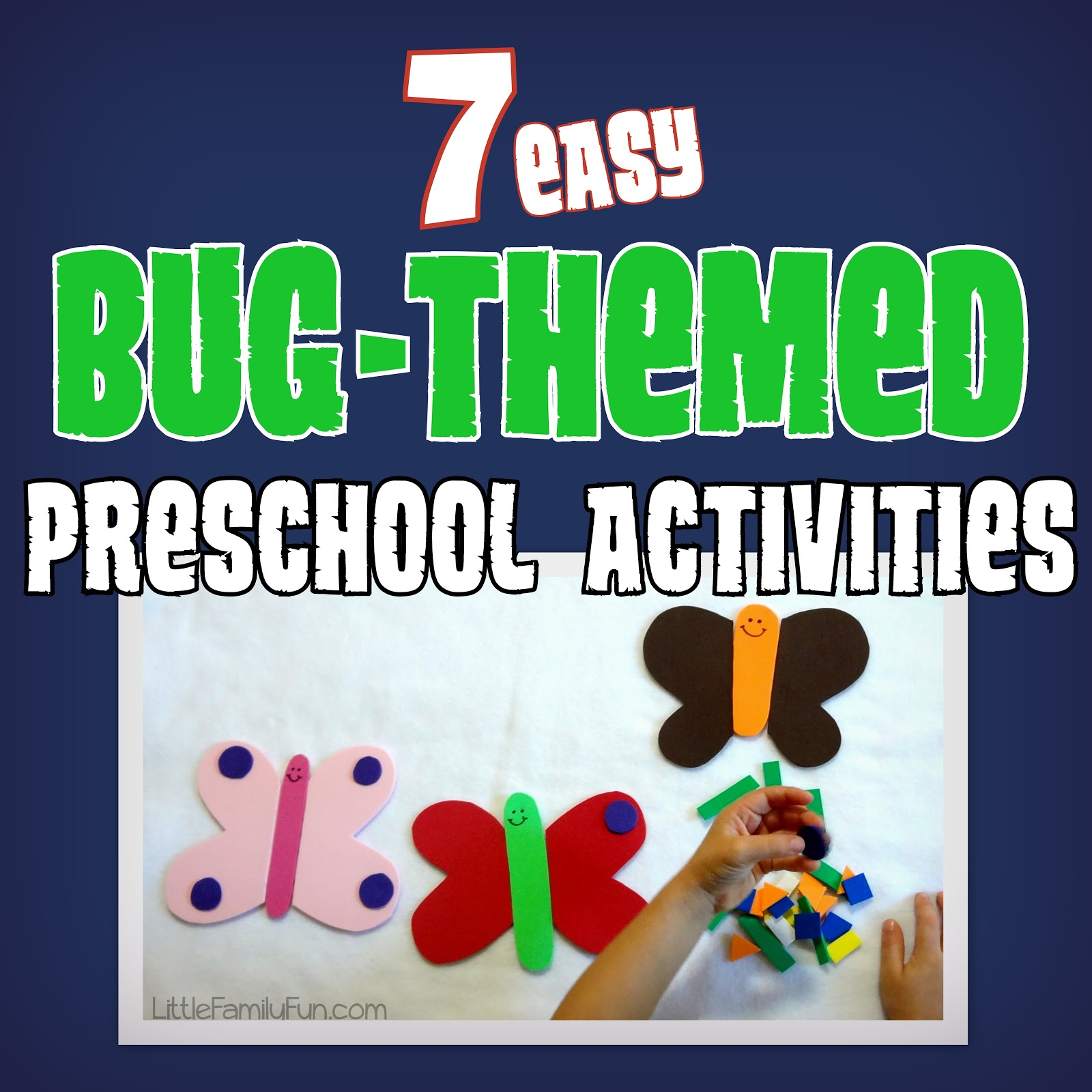 Little Family Fun Bug Theme