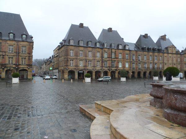 La Place Ducale à Charleville
