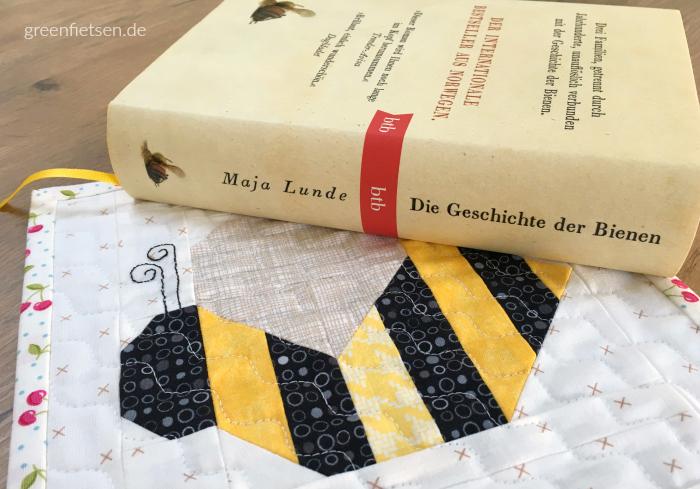 Mini Quilt mit Biene (Spelling Bee von Lori Holt)