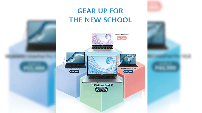 Huawei announces Back-to-School deals on its 2021 MateBook laptops