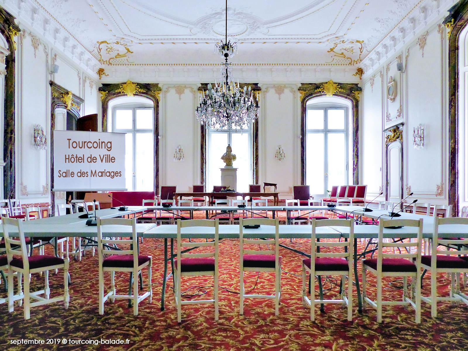 Hôtel de Ville Tourcoing - Salle des mariages - 2019
