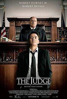 The Judge (2014) English Movie Poster