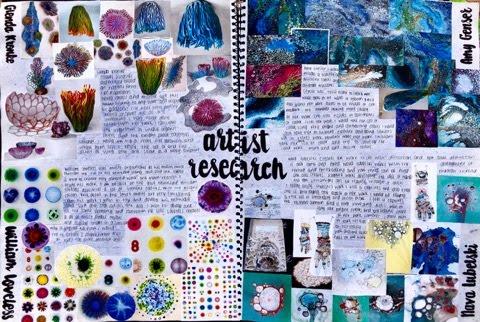 Art Book Design Artist Research