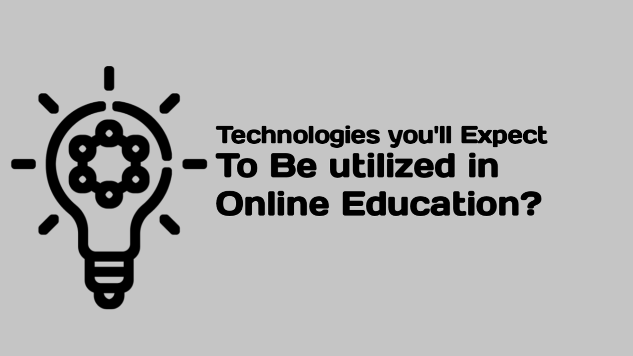 online learning technology Distance learning uses a good sort of technologies and differing types of media