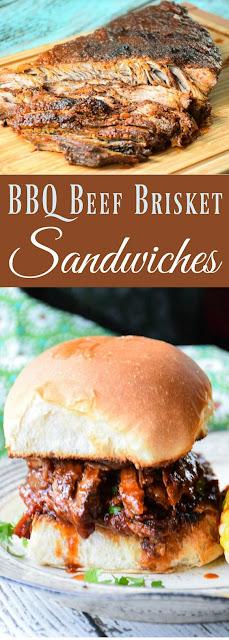 BBQ BEEF BRISKET SANDWICHES