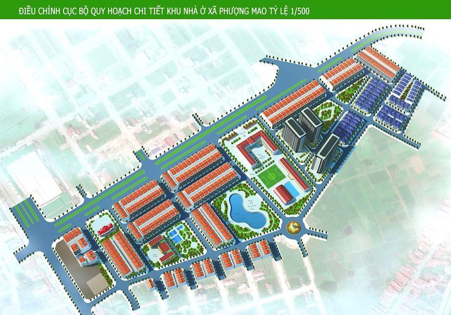 Tổng quan dự án Khu đô thị Phượng Mao Green City