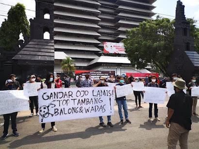 GEMPADEWA Meminta Gubernur Jateng Hentikan Rencana Pertambangan di Wadas