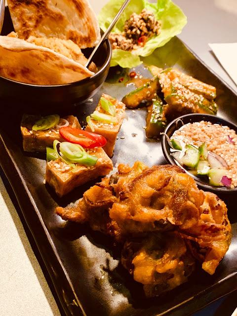 Tampopo vegan sharing platter