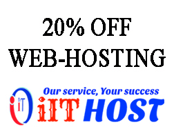 20% Discount of Web Hosting