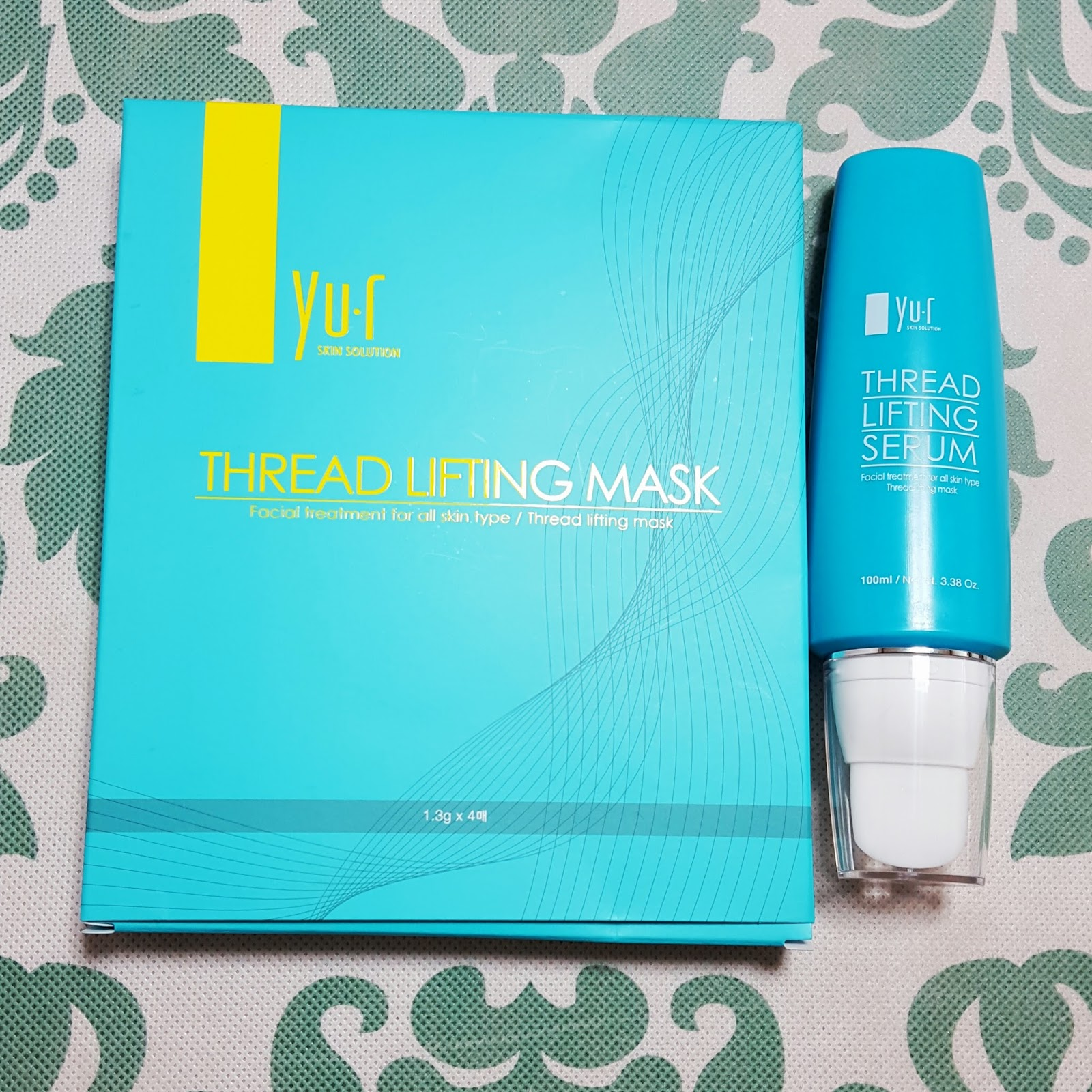 Sheet Mask Style: Dry Threading Mask Review