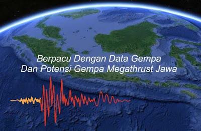 Berpacu Dengan Data Gempa Dan Potensi Gempa Megathrust Jawa
