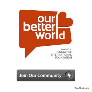 Join OurBetterWorld.org community now~