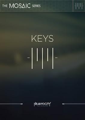 Cover da Library Heavyocity - Mosaic Keys (KONTAKT)