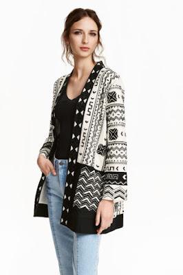 kurtka etno nowości H&M trendy na wiosnę 2016 modowe propozycje