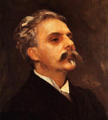 Gabriel Fauré painted by John Singer Sargent, 1889