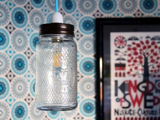iconic lights jam jar pendants