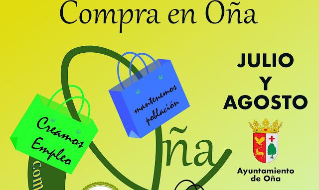 Campaña comercio local de Oña.