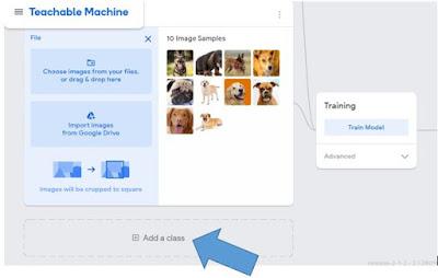 Add a class button in google teachable 2.0