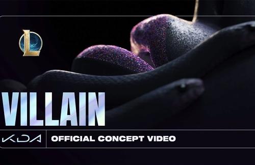 Villain | K/DA & Madison Beer & Kim Petras Lyrics
