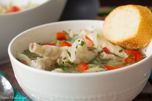 Easy Chicken Foot Souse Recipe