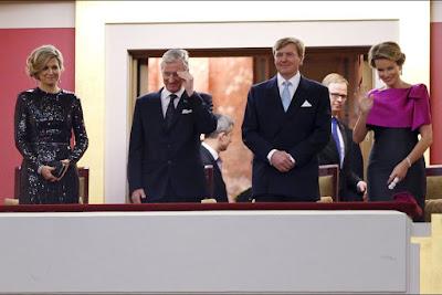 Résultat d'images pour reine Maxima à Bruxelles
