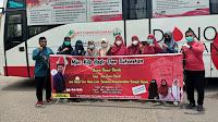 Kerjasama Dengan UTD RSUD dr.Fauziah Bireuen, GPPM Gelar Acara Donor Darah