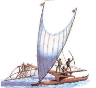 perahu bercadik nenek moyang
