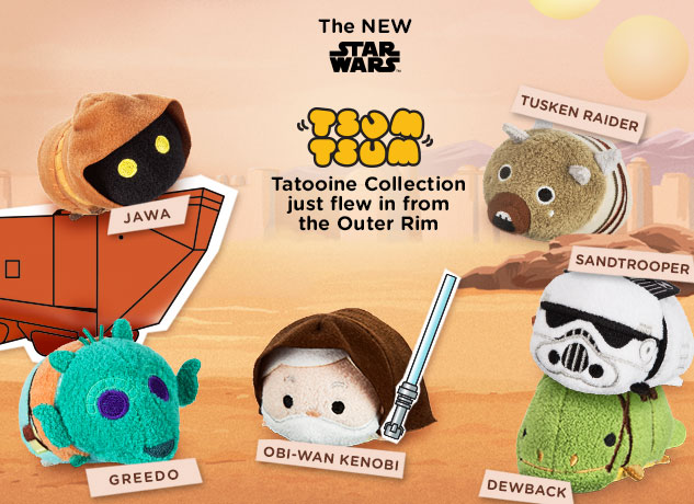 The Blot Says...: Star Wars Tsum Tsum Tatooine Plush ...