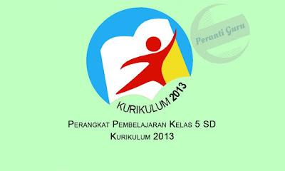 RPP Kelas 5 SD Kurikulum 2013 Semester 1