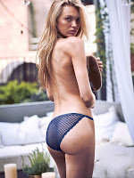 Romee Strijd hot in sexy lingerie photo shoot for Victoria's Secret model
