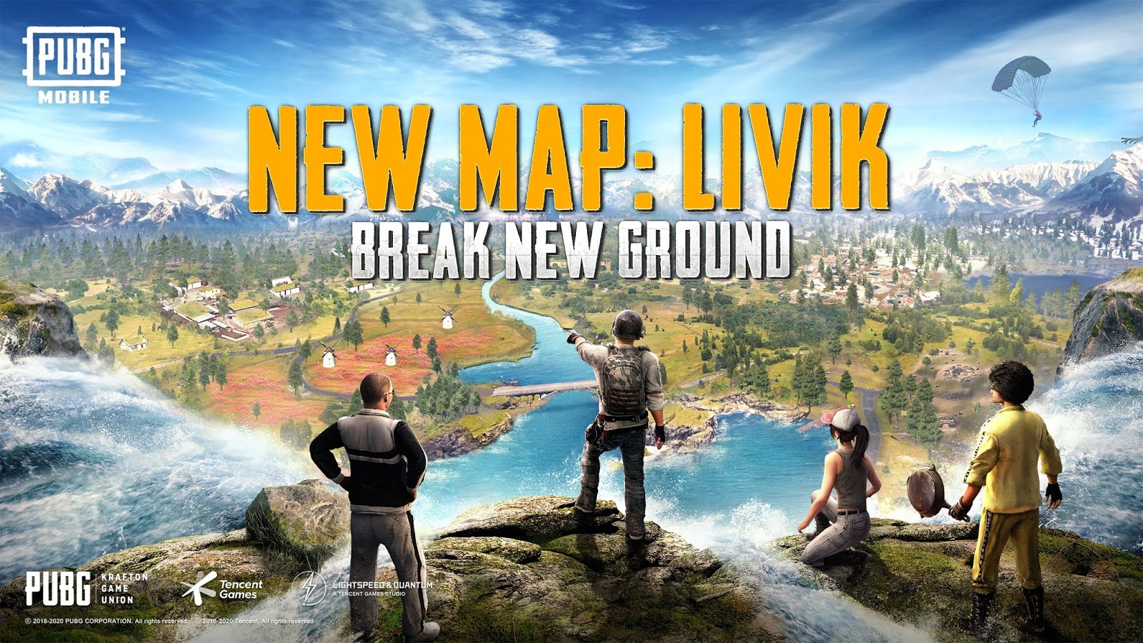 PUBG Mobile Update 0.19.0 including Livik Map