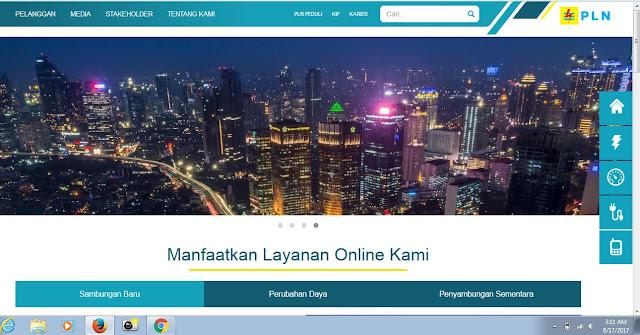 cara daftar sambungan baru PLN secara online tanpa datang ke kantor PLN