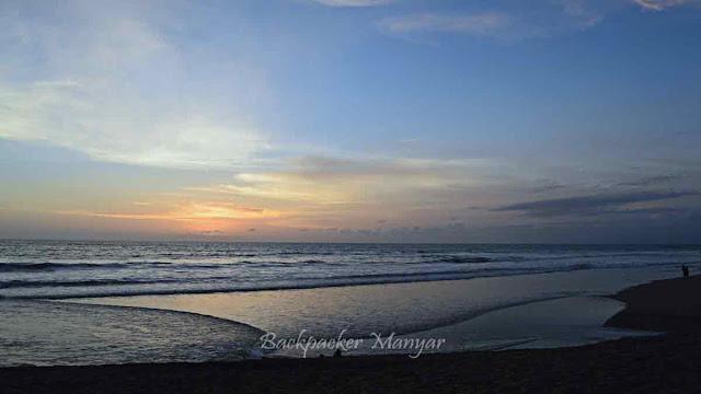 Senja di Pantai Kayu Putih Bali