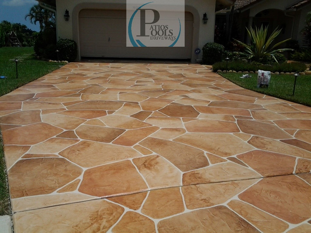 Decorative Concrete The Many Faces For Your Driveway