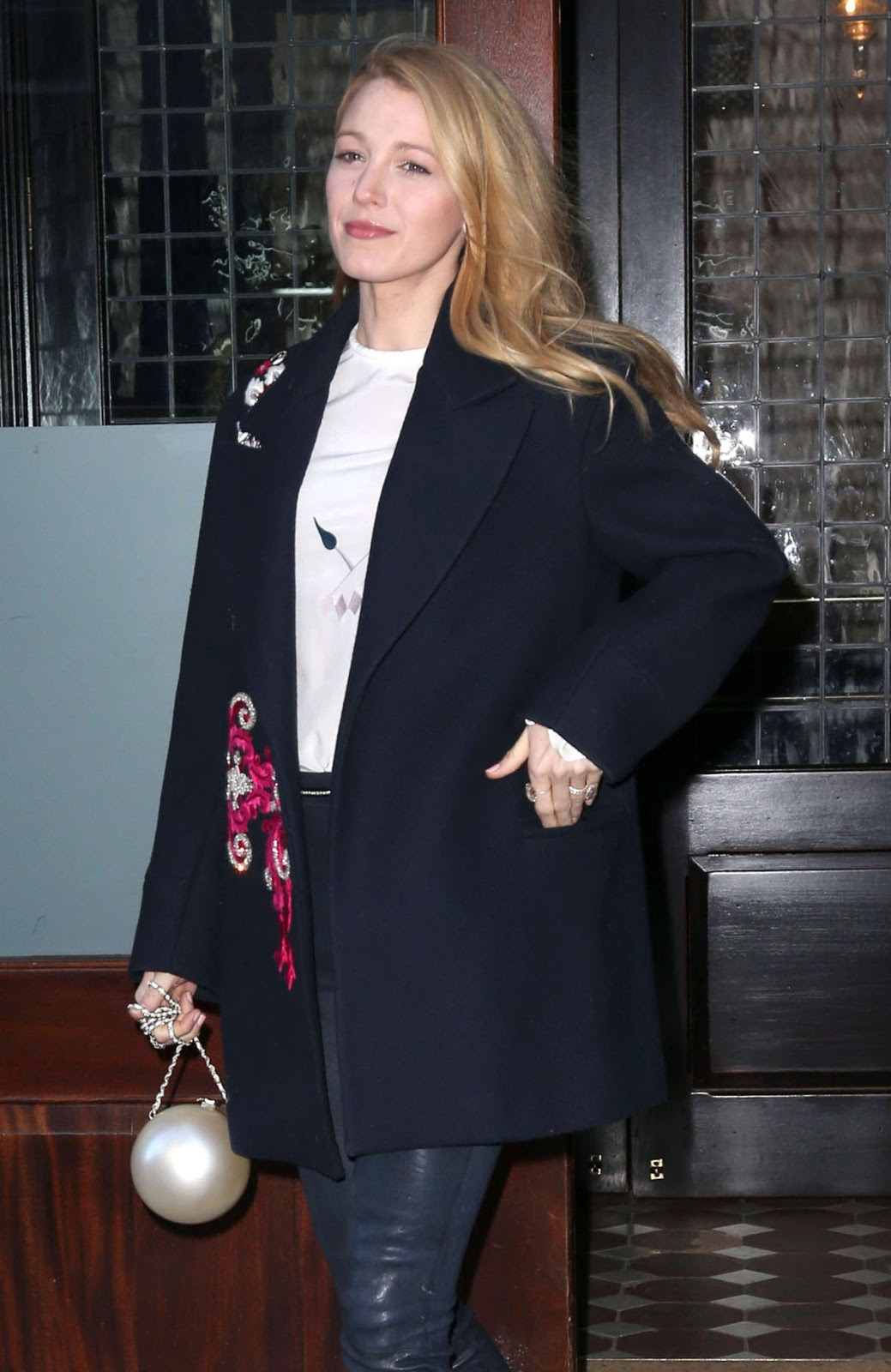 'All I See Is You' actress Blake Lively Leaves Hotel in New York