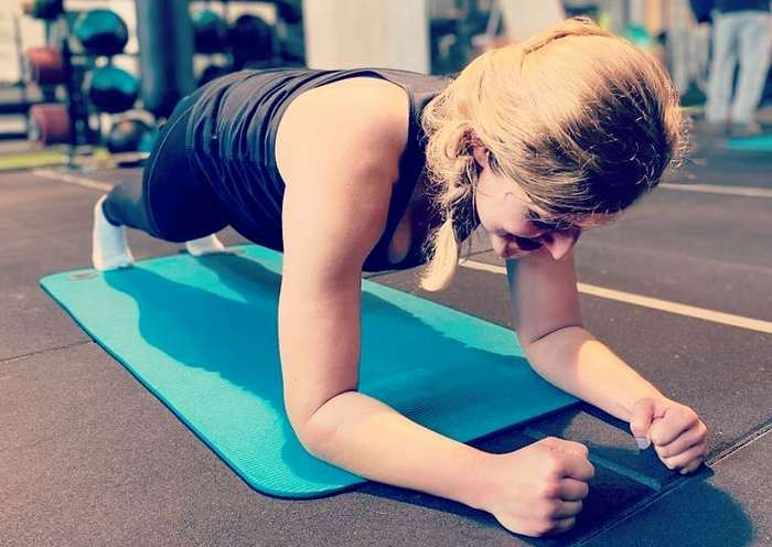 Plank Workout Routine to Flatten Your Abs