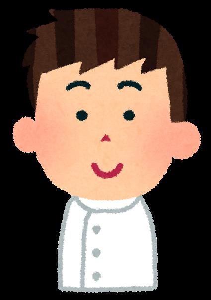 男性看護師のイラスト「笑った顔・怒った顔・泣いた顔・笑顔」 | かわいいフリー素材集 いらすとや