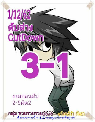 Thailand Lottery 3up Straight Win Tip Facebook  01 December 2019
