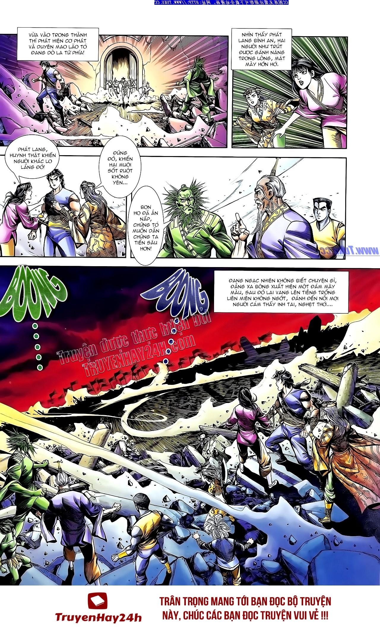 Cơ Phát Khai Chu Bản chapter 141 trang 34